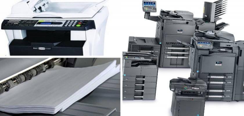 Fotokopi ve Yazıcı Kullanım ve Bakım Hizmetleri