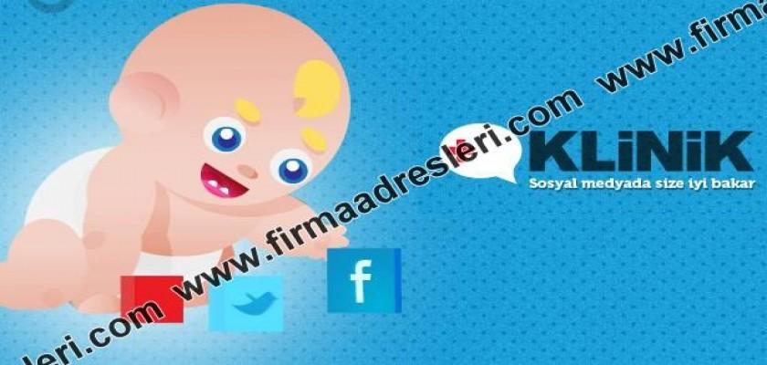 Www.Klinik.Com.Tr Web Sitesi Sosyal Medyadaki Yeni Firmalara Yöneticiliği Aşılar