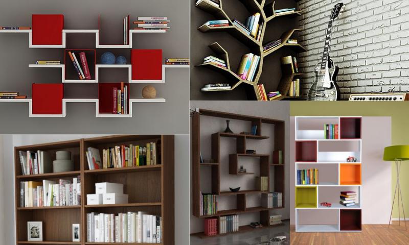 Kitaplık Modellerinde Minimal Tasarımlar