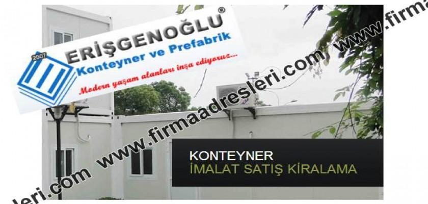Konteyner üretimi konusunda lider marka Erişgenoğlu Konteyner