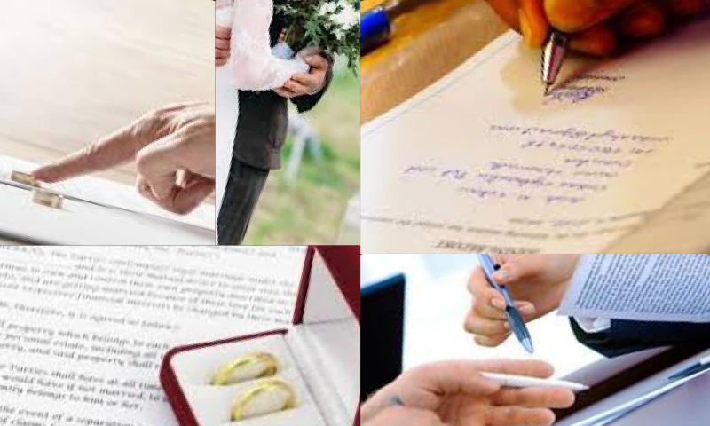 Evlilik Sözleşmesi Nedir?